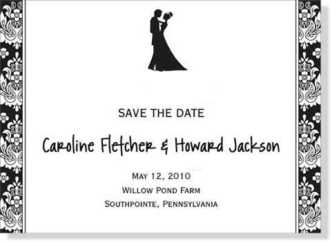 informal wedding invitations for your casual nuptials
