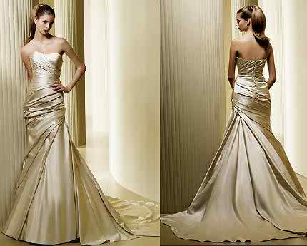 La Sposa strapless wedding dresses