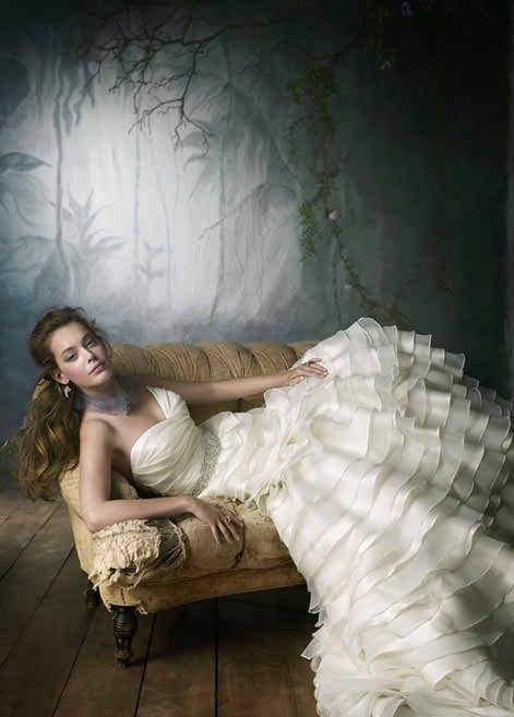 Lazaro wedding dresses 2