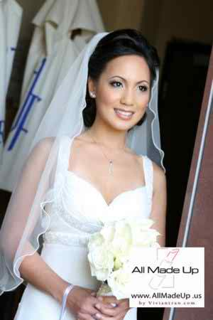 Learn more about the black and white bridal makeup