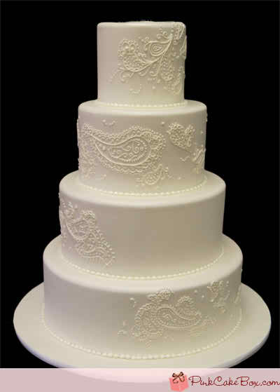 Less is more - my wedding cake