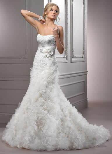Maggie Sottero 2012 wedding dress