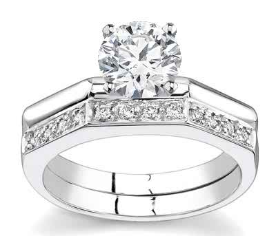 My engagement ring - with diamonds or sans diamonds