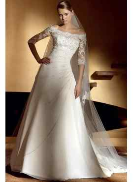 My one and only petite wedding dress