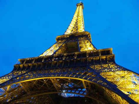 Paris, France - honeymoon