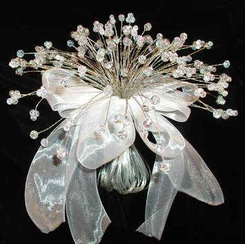 Pick a crystal wedding bouquet