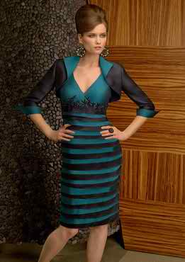 Glamorous mother's dress