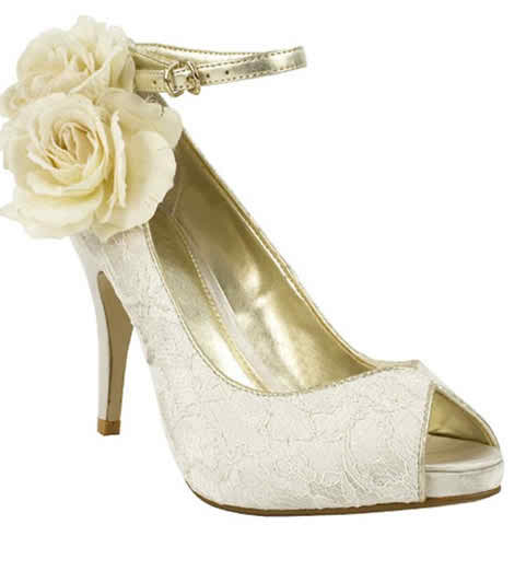 Pick the appropriate wedding shoes