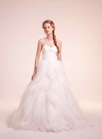 Popular wedding tradition - Wedding dress