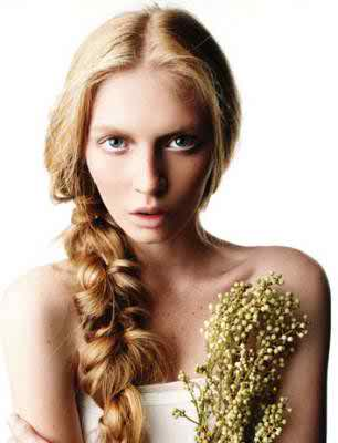 Russian hairstyles for brides 2