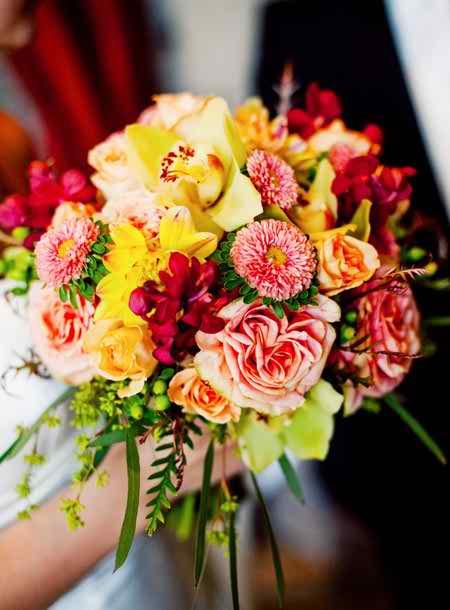 Short wedding flowers 2