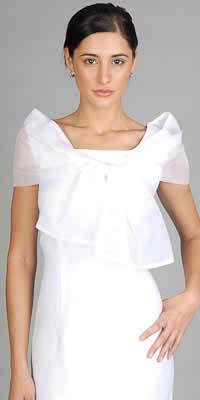 Suitable apparel for mature brides