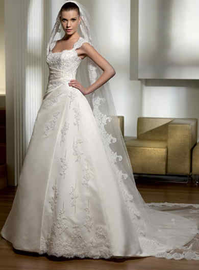 The ball gown of my wedding day