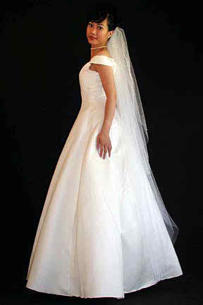 The beauty of my long bridal veil | | TopWeddingSites.com