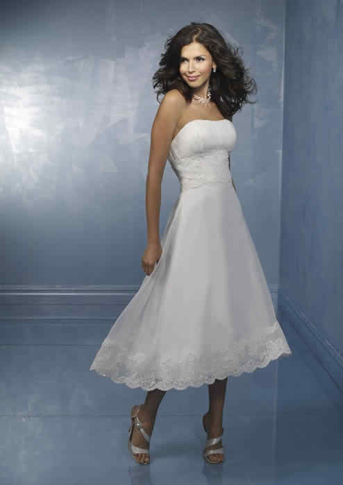 The right bridal gown for my wedding reception