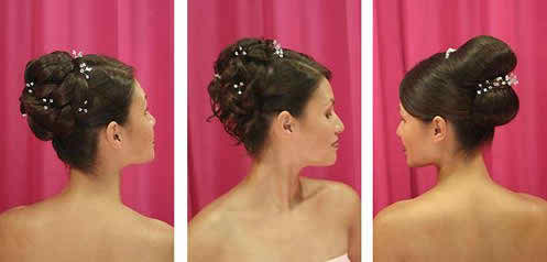 These steps will help you find your bridal hairstyle