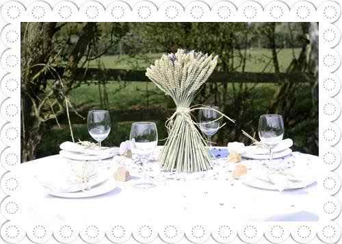 Use eco friendly wedding decorations