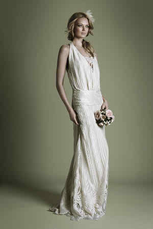 Vintage wedding gown