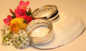 Wear a piece of history on your fingers - wedding rings