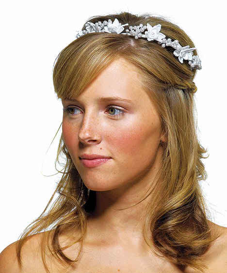 Wedding Hair Accessories With Pearls