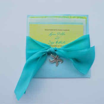 Wedding Inspiration - Baby Blue Wedding Invitations