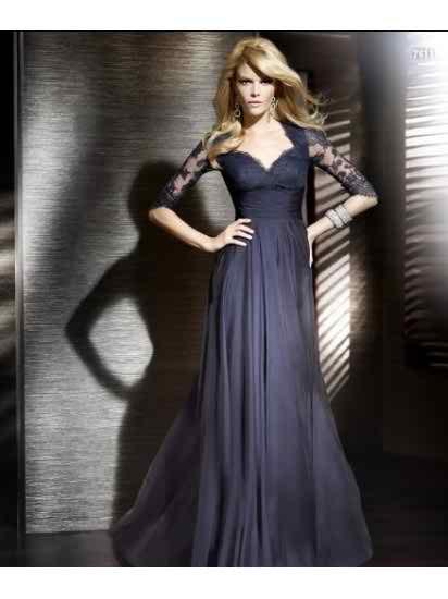 Wedding Inspiration-Sleeved Bridesmaids-Dresses