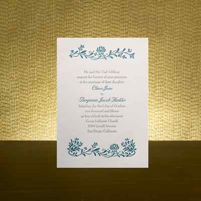 Wedding Planning - The Fifth Step - Invitations