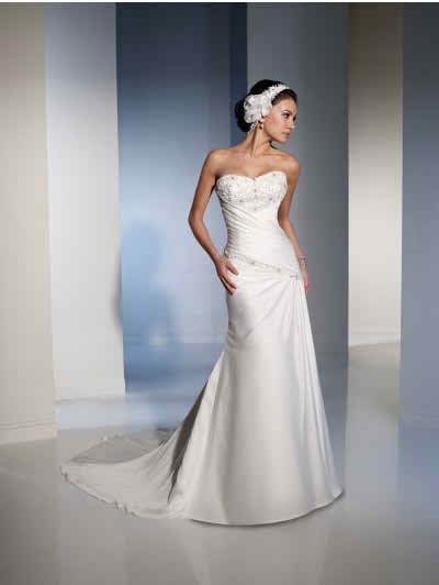 Wedding dresses with colours VS. Pure white bridal gowns