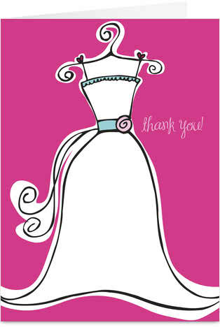 Wedding etiquette - thank you notes