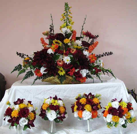 artificial wedding flowers 3 2