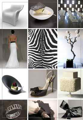 black and white wedding themes 3