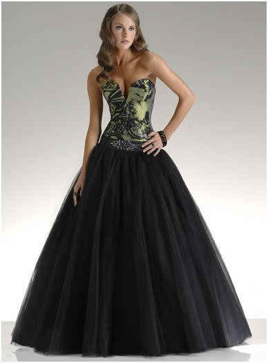 black wedding dress 4