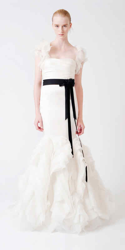 Black wedding dresses 3 for Top 10 wedding sites