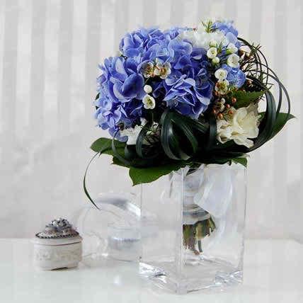 blue wedding flowers2
