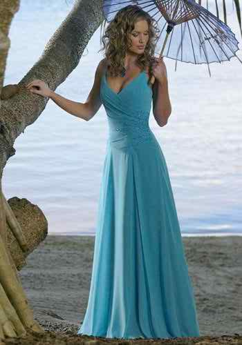 blue weding dresses3