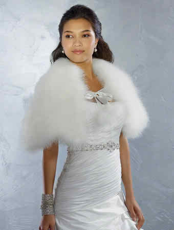 bridal capes as accessories
