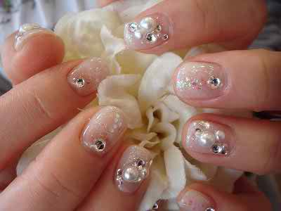 bridal manicure 2