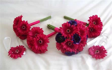 budget silk flowers