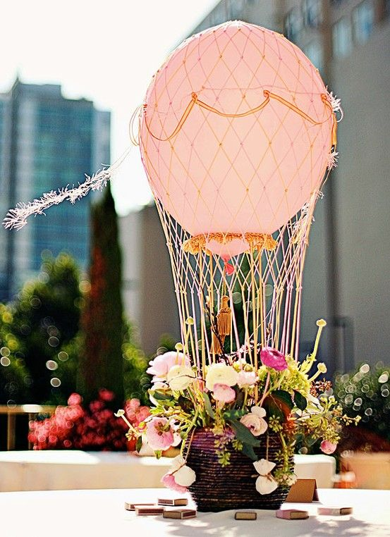 Hot Air Balloon Accents That Will Create Magic Throughout Your