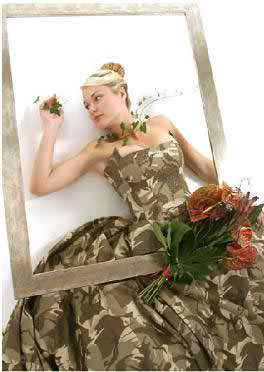 camouflage wedding dresses3