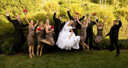 choosing wedding dresses