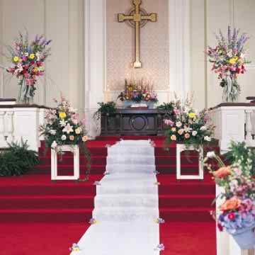church wedding decorations2