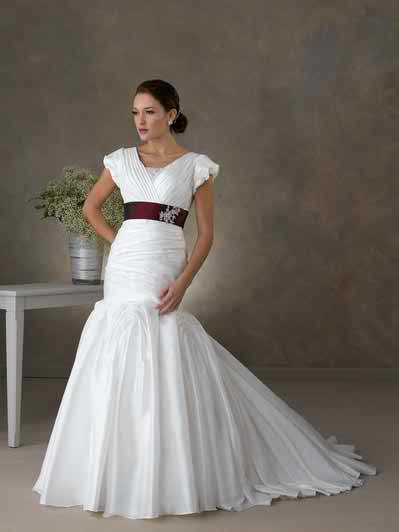 cliche for modest wedding dresses