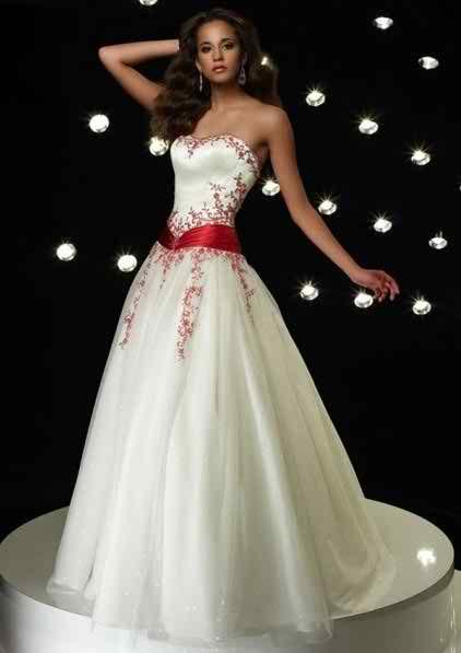 color wedding dresses 2 3