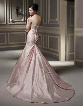 colored Anjolique wedding dresses 3