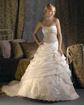 colored Christina Wu wedding dresses 2