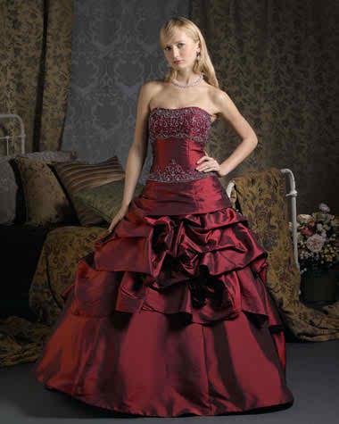 colored Christina Wu wedding dresses 3