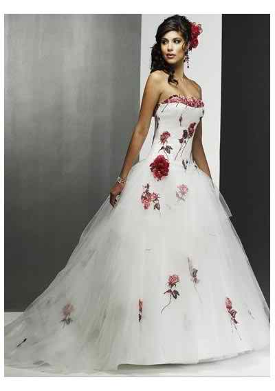 colorful wedding dresses 2