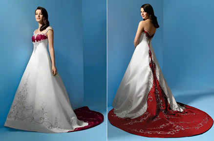 colorful wedding dresses2