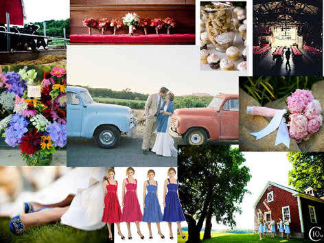 colors used in wedding venues